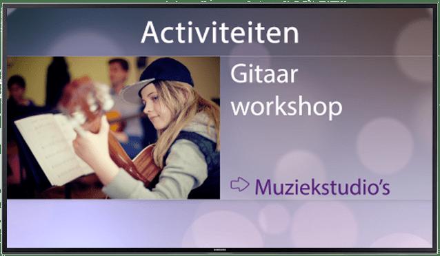 activiteiten scherm