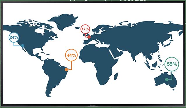 wereld map