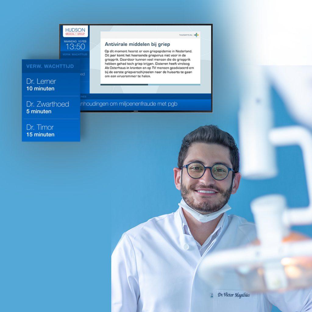digital signage for dentistry