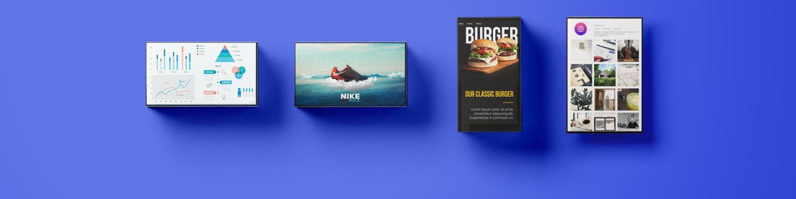 digital signage commercial displays
