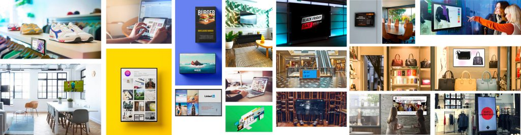 Some of digital signage's many forms of application - Easyscreen.tv