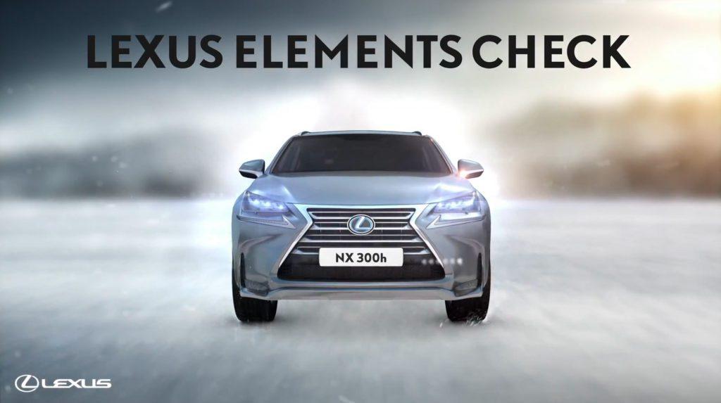 Lexus Digital signage