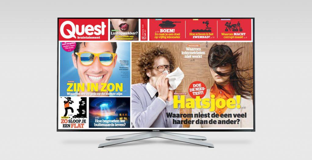 digital signage quest magazine