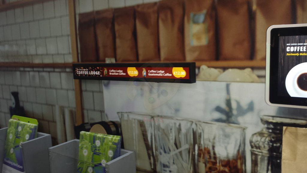digital signage trends: long displays