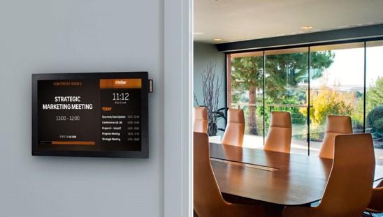 meeting room tv - digital signage