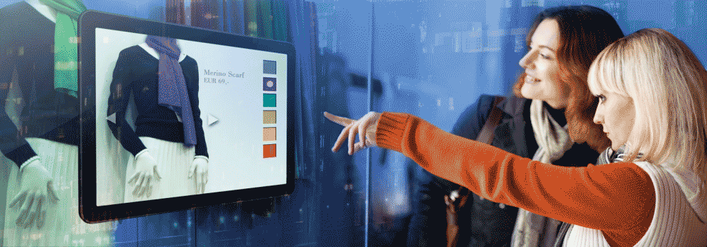 create the ultimate customer experience with digital signage