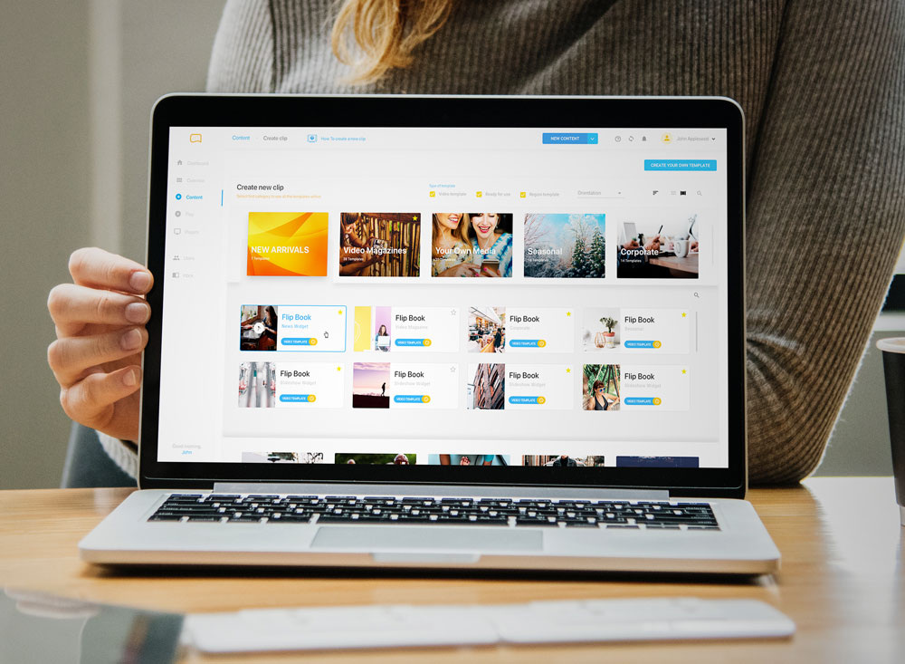 Digital Signage Software - Easyscreen.tv