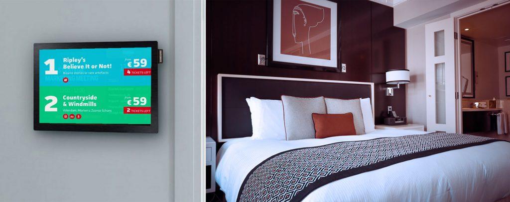 cartelería digital para hoteles
