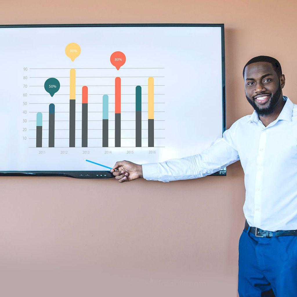 improve internal communications with company metrics