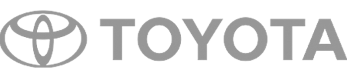 toyota logo digital signage