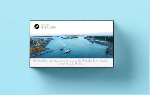 publicidad digital en pantalla