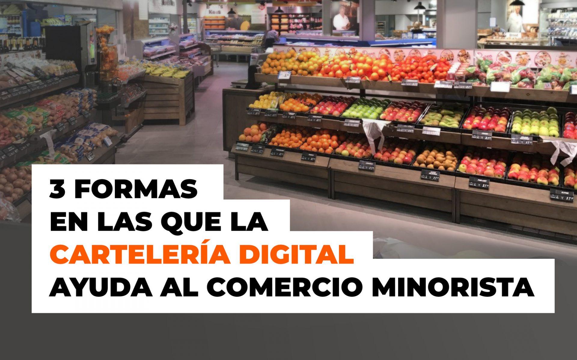 digital signage comercio minorista